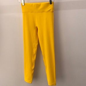 All Access yellow legging, sz S, 64791